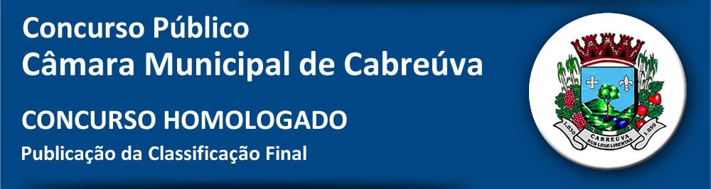 Concurso Câmara Municipal Cabreúva