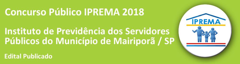 Concurso IPREMA 2018